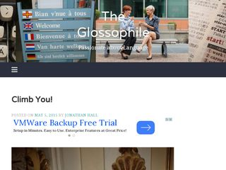 The Glossophile: Passionate about Language